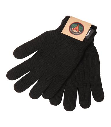 перчатки трикотажные (мужские) черные
